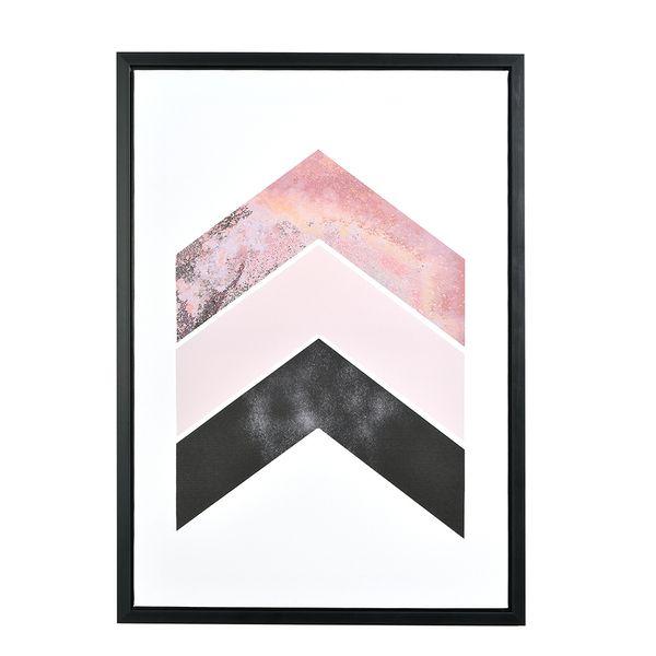 Cuadro-Flechas-Negro-y-Rosa
