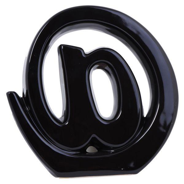 Figura-Decor-Arroba-Negro
