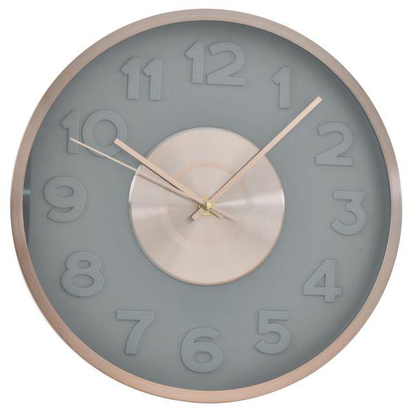 Reloj-de-Pared-Gris