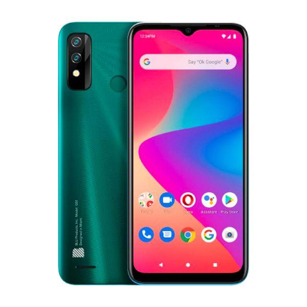 Celular-Blu-G61-Verde
