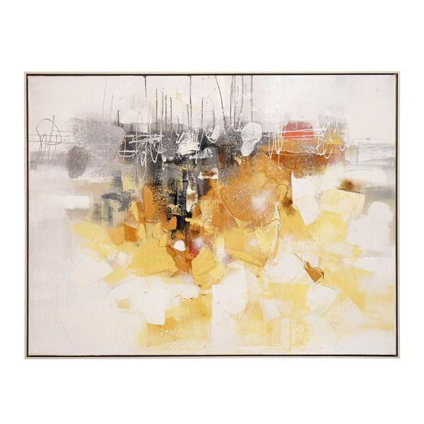 Cuadro-Abstracto-Amarillo